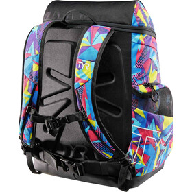 TYR Alliance Geo Print Backpack 45L pink/purple